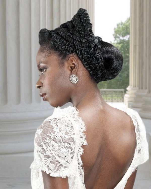 Black Braided Wedding Hairstyles: Bridal Hairstyles For Black Women