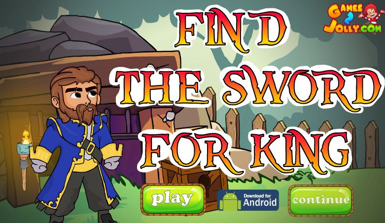 Play Games2Jolly Find The Sword For King