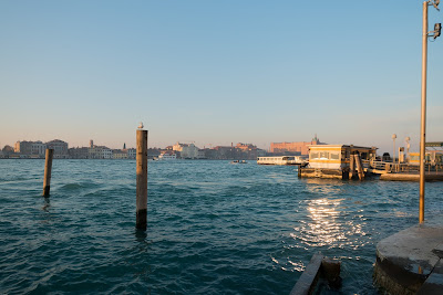 A chilly Venice Italy