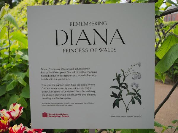 Ogród księżnej Diany.