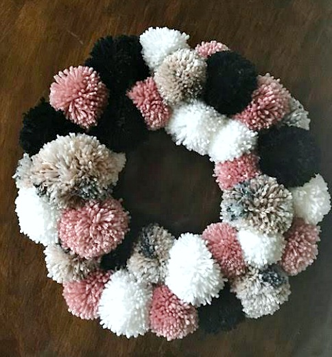 Rosy Cheeks Winter Wreath