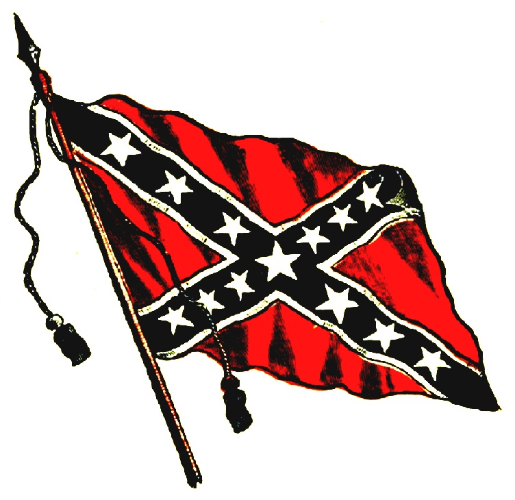 the battle of the confederate flag at The confederate battle flag eventually developed wide acceptance throughout the confederacy, but it was by no means the only battle flag the stars and bars continued to be used, and after it was replaced with a new national flag, that flag the stainless banneralso appeared on the battlefield.