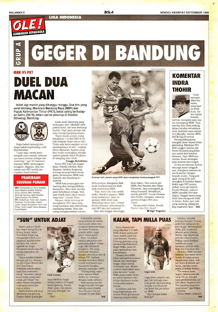 LIGA INDONESIA: GRUP A GEGER DI BANDUNG