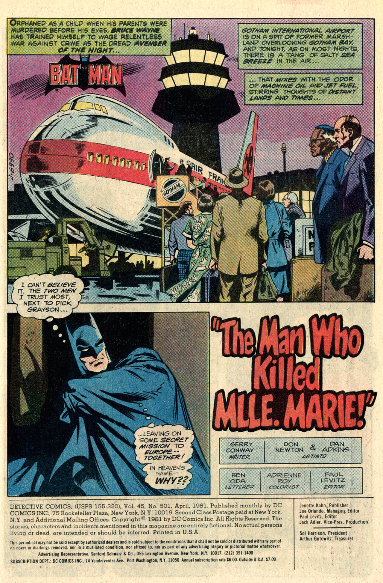 Detective Comics (1937) 501 Page 2