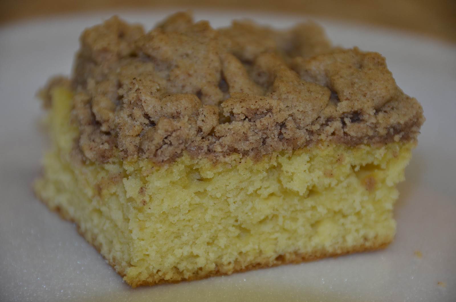 Using Yellow Cake Mix For Crumb Topping
