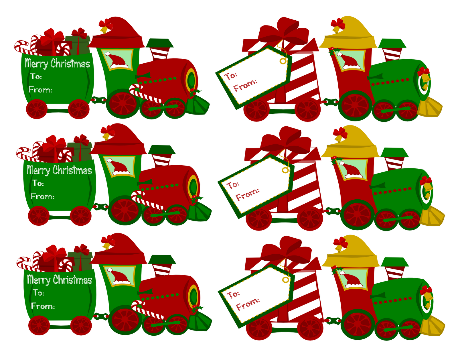 FREE Christmas Printables, Gift Tags & Homemade Gift Ideas ...