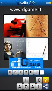 PACCHETTO 4 Soluzioni Trova la Parola - Foto Quiz soluzione livello 20
