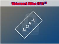 Cara Membuat Watermark Tulisan dan Gambar di Office Word 2010