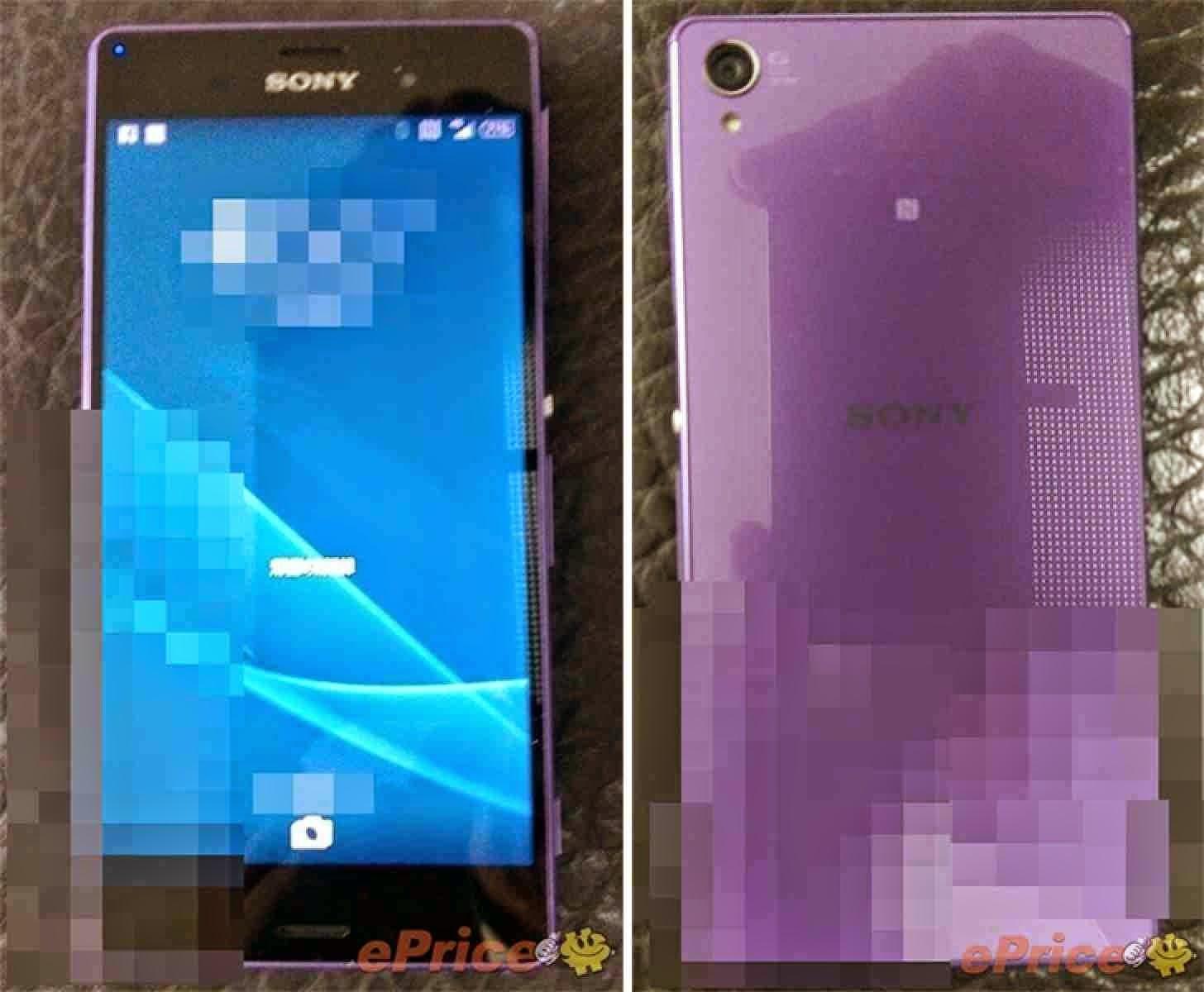 Sony Xperia Z3 Ungu