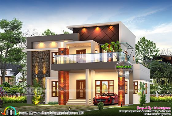 Awesome rendering of 4 bedroom house 2947 sq-ft