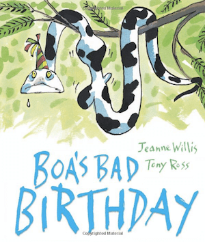 Boa's Bad Birthday: Fabulous Birthday Book