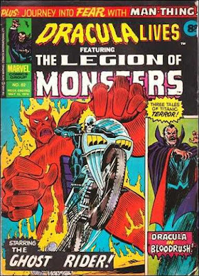 Marvel UK, Dracula Lives #82, Ghost Rider