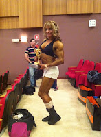 Female Bodybuilding muscular women Pro