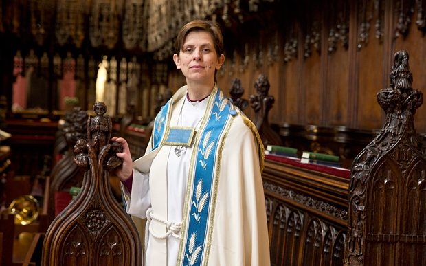 Rev Libby Lane was the UK's first bishop