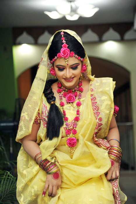 Wedding Snaps Bridal In Holud