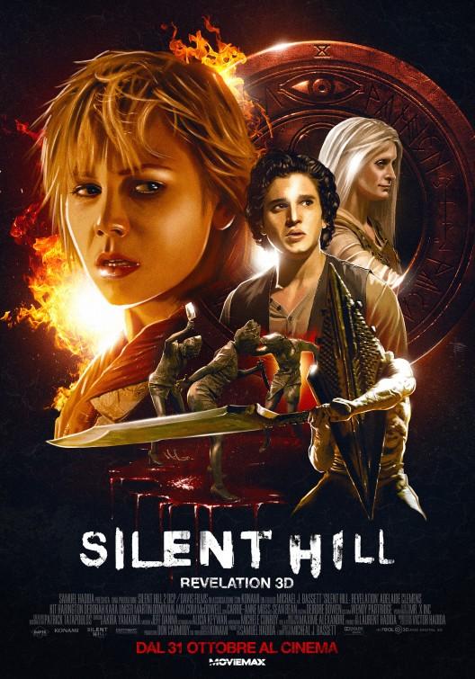 Italian Poster Of Silent Hill 2 Revelation Teaser Trailer