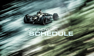 2019 IndyCar official calendar.