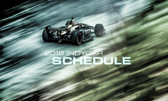 IndyCar official calendar
