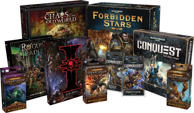 Games Workshop and Fantasy Flight Games Part Ways