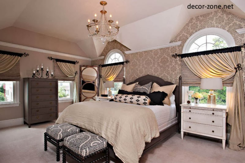 bedroom curtains ideas - 20 designs on Master Bedroom Curtain Ideas  id=34574