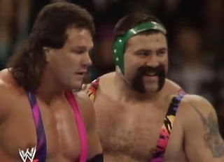WWF/WWE ROYAL RUMBLE 1993 - The Steiner Brothers (Rick & Scott)
