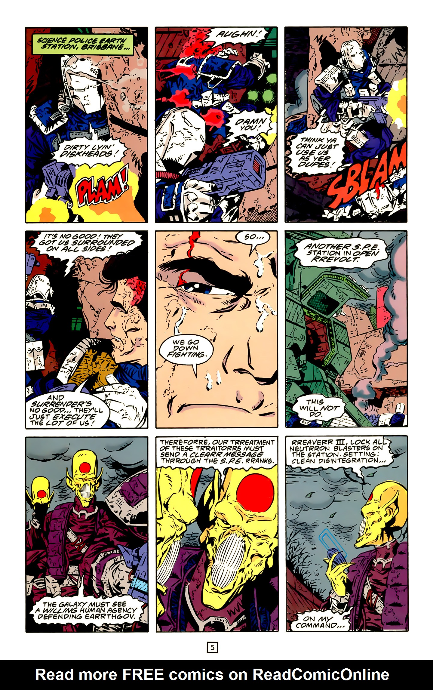 Legion of Super-Heroes (1989) 20 Page 5