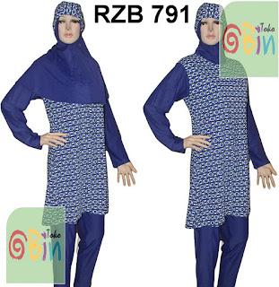baju renang syari RZB 791