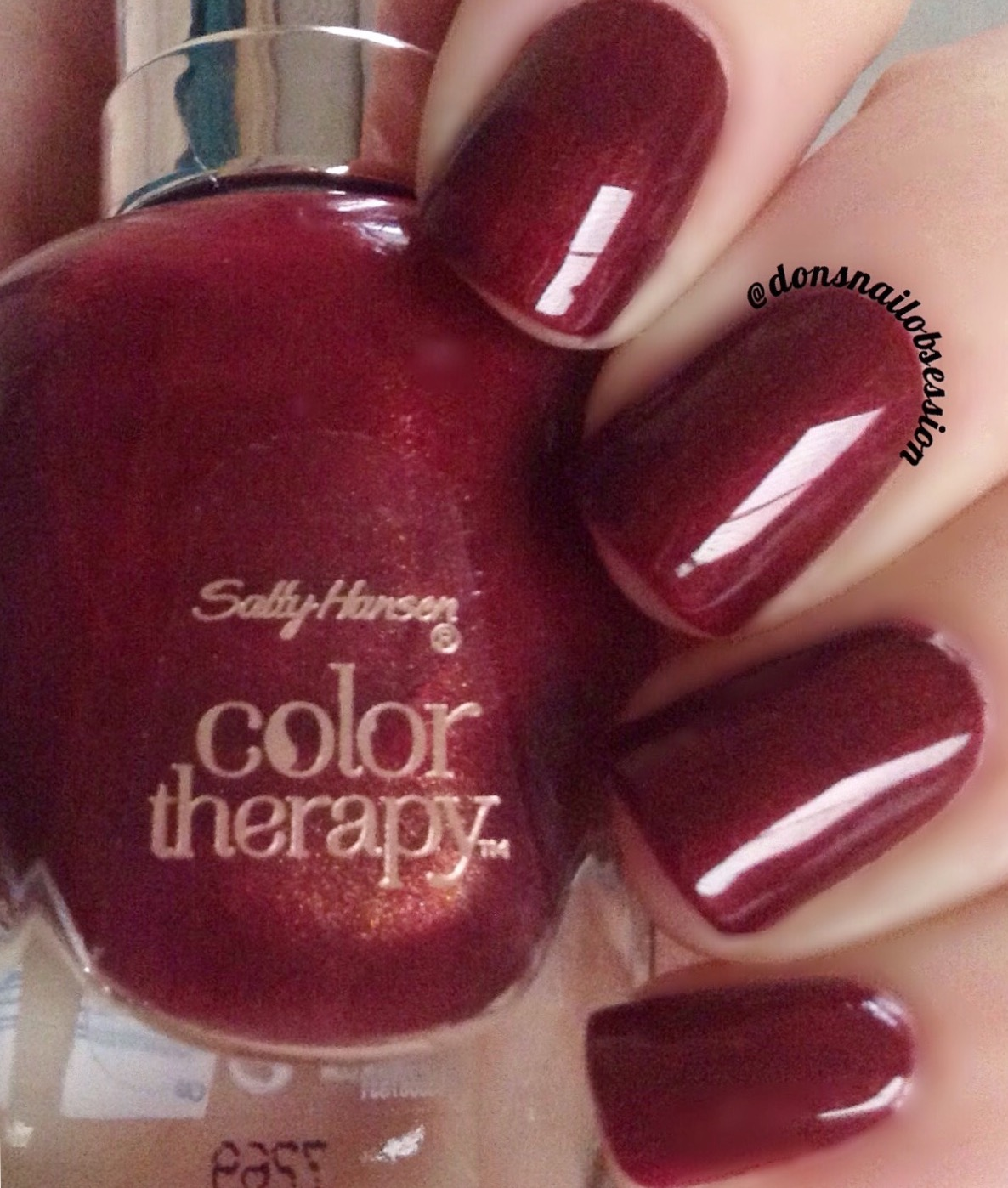 Deep Wine Nail Polish: Don's Nail OBSESSION!: NEW SALLY HANSEN COLOR THERAPY