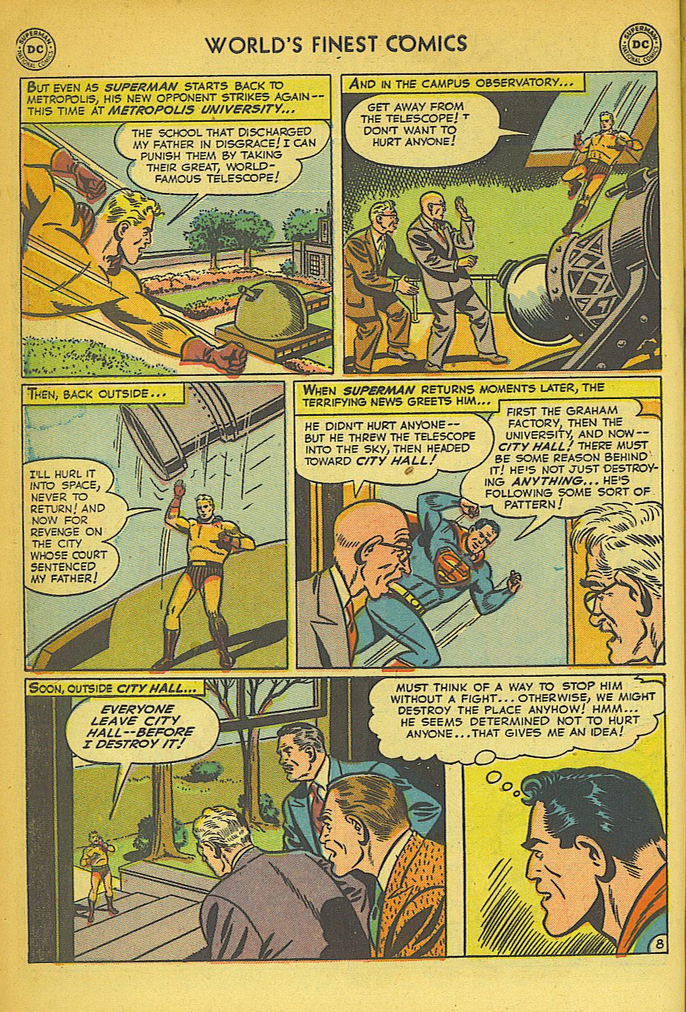 Read online World's Finest Comics comic -  Issue #57 - 10
