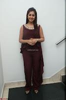 Nikki Galrani in a Brown Shining Sleeveless Gown at Nakshatram music launch ~  Exclusive 108.JPG