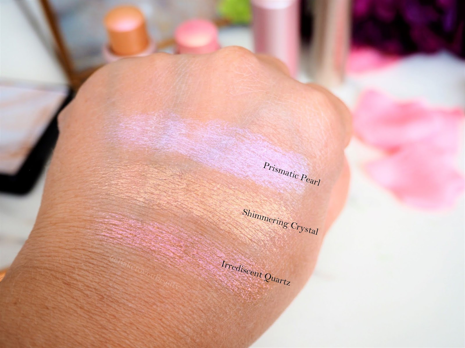 Bareminerals Crystalline Glow highlighters