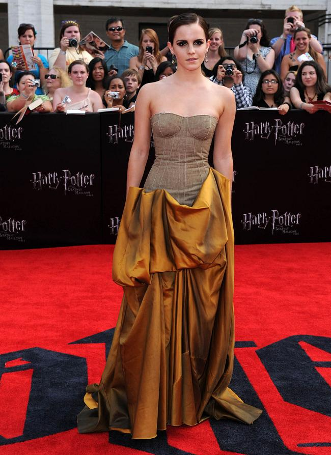 Emma Watson at the NYC Premiere of Harry Potter and the Deathly Hallows