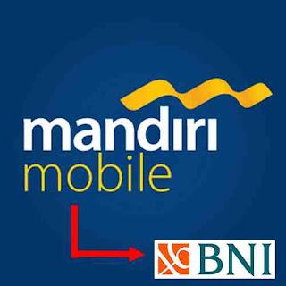 transfer via Mobille banking mandiri