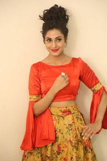 Actress Iraa Stills IN Floral Skirt at Vaadu Veedu O Kalpana Audio Launch  0006.jpg