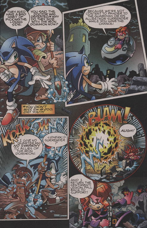 Read online Sonic The Hedgehog comic -  Issue #202 - 4