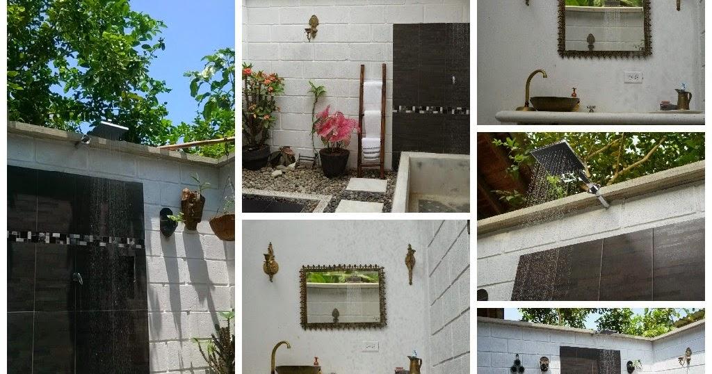 Decoraci n casa rural construyendo un ba o al aire libre for Decoracion casa rural