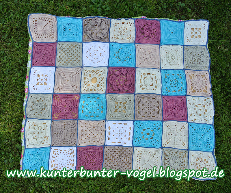 Granny Squares Decke Häkeln Anleitung Rootcanalexperts