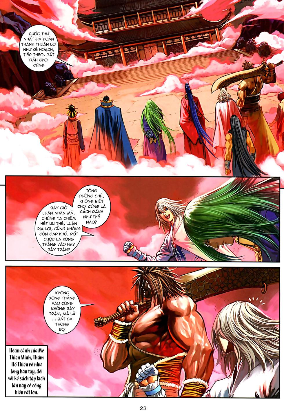 Ôn Thuỵ An Quần Hiệp Truyện Phần 2 chapter 32 trang 21