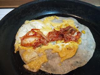 做成韓式泡菜蛋餅也超唰嘴!!
