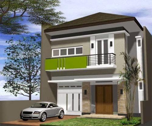 model rumah tingkat sederhana 6 6