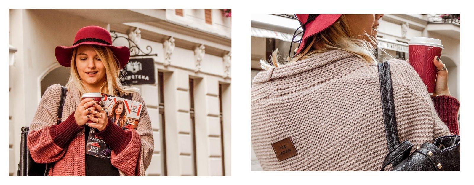 8a detale zegarek daniel wellington złote pierścionki pomysł na stylizacje prezent modnapolka łódź outfit jak nosić swetry owersize plecak z ćwiekami nobo bags torebki opinie recenzje blueshadow bonprix selfieroom