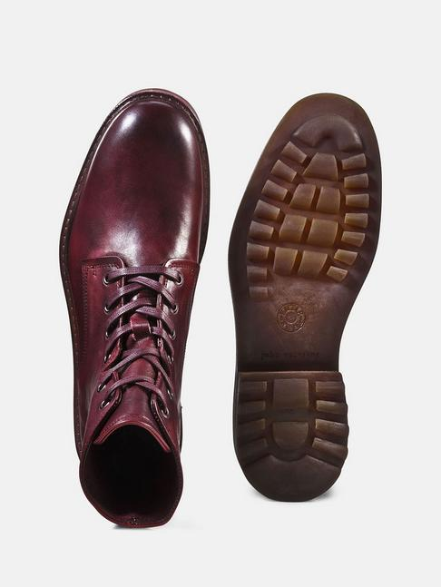 ae8aa1cbf22 Caught And Crafted Red-Handed  John Varvatos Essex Lace-Up Boot ...