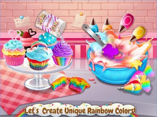 Game Rainbow Desserts Bakery Party Apk