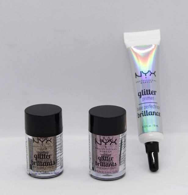 Glitter Goals de Nyx para cuerpo y rostro