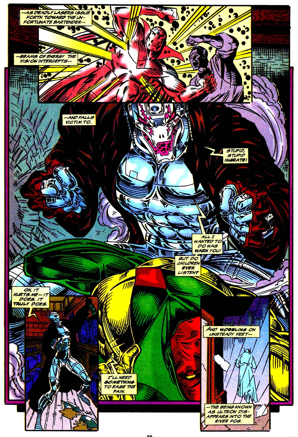 Read online The Vision comic -  Issue #1 - 21