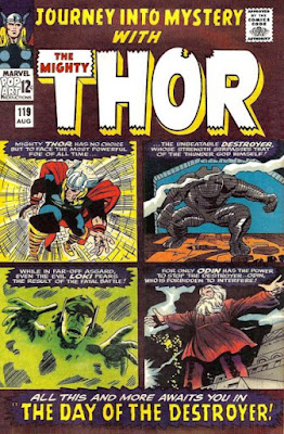 Journey Into Mystery # 119, Thor vs the Destroyer