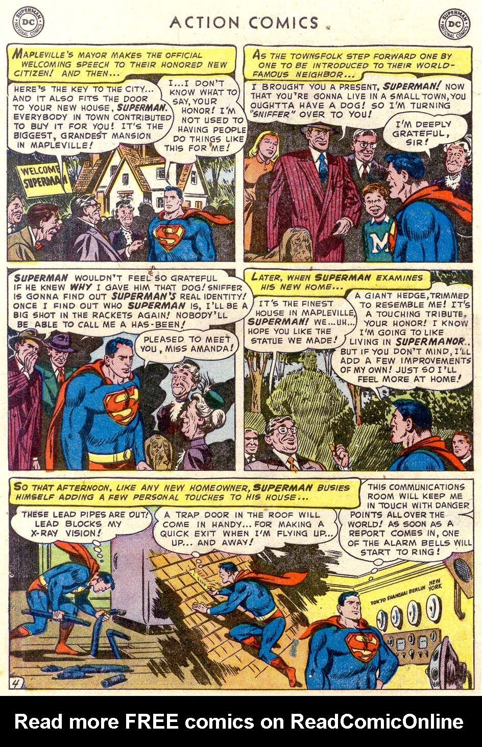 Read online Action Comics (1938) comic -  Issue #179 - 5