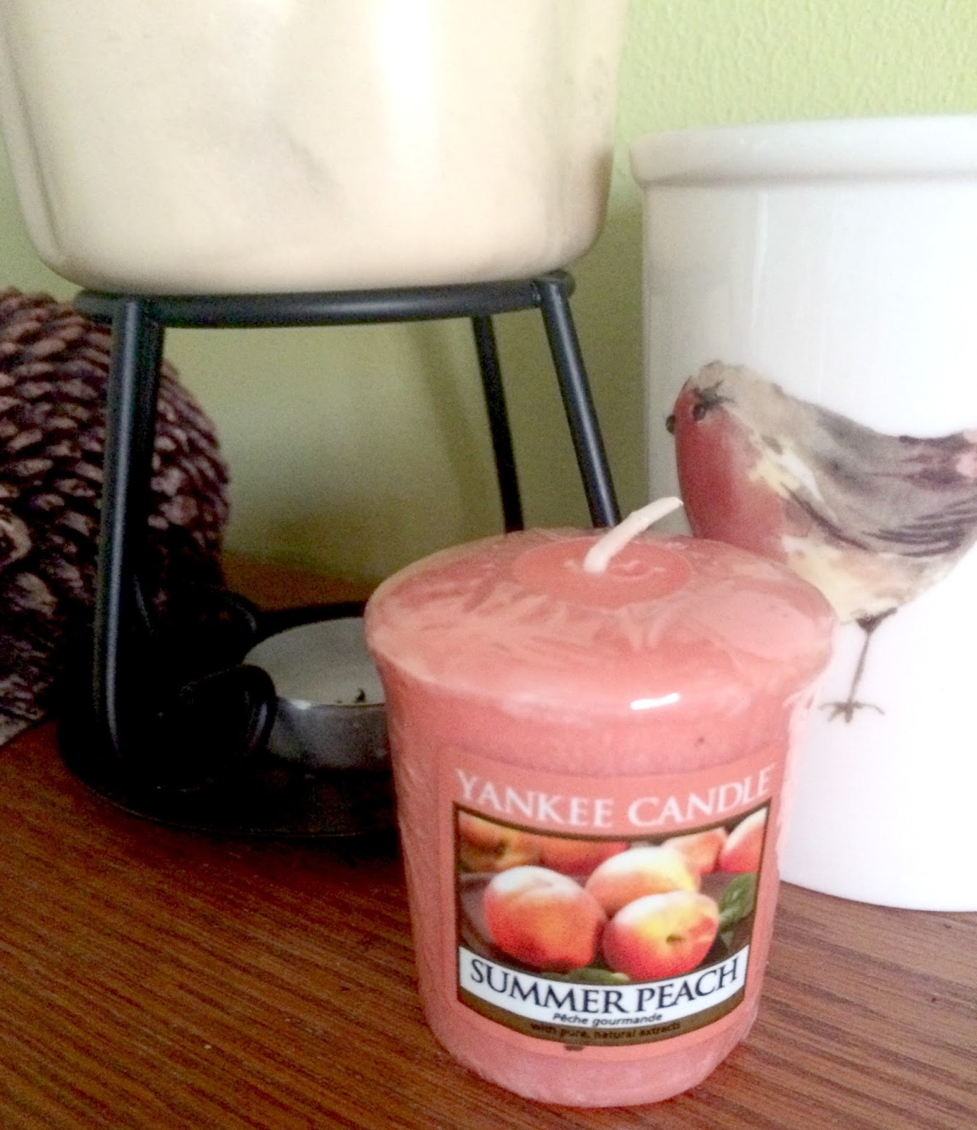 Yankee candles summer peach review