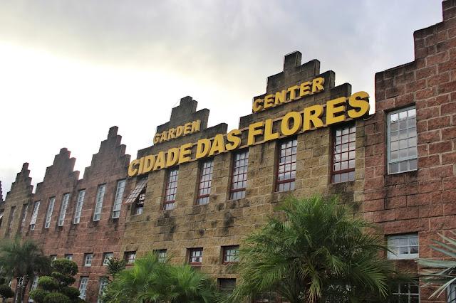 Fachada do Garden Center, em Holambra, São Paulo.