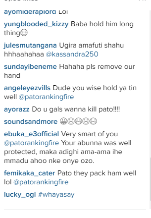d Patoranking shares photo on Instagram, See fans reaction